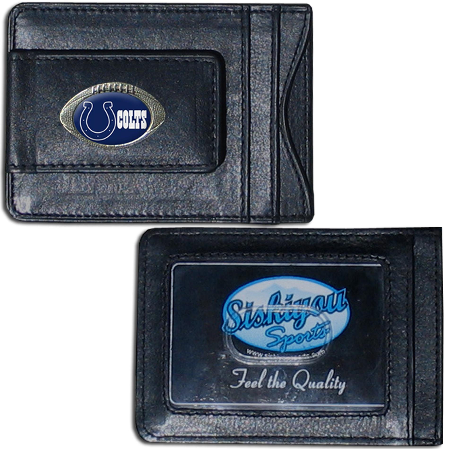 Indianapolis Colts NFL Magnetic Money Clip and Card Holder