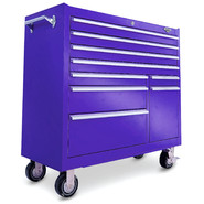 "Viper Tool Storage 41"" 9 Drawer 18G Steel Rolling Cabinet, Purple at Sears.com"
