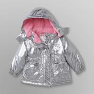 WonderKids Infant & Toddler Girl's Hooded Winter Jacket at Kmart.com