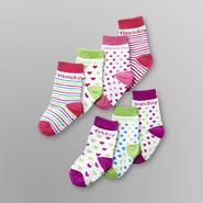 Joe Boxer Toddler Girl's 7-Pack Crew Socks at Sears.com