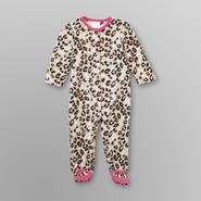 Small Wonders Infant Girl's Sleeper Pajamas - Leopard Print at Kmart.com