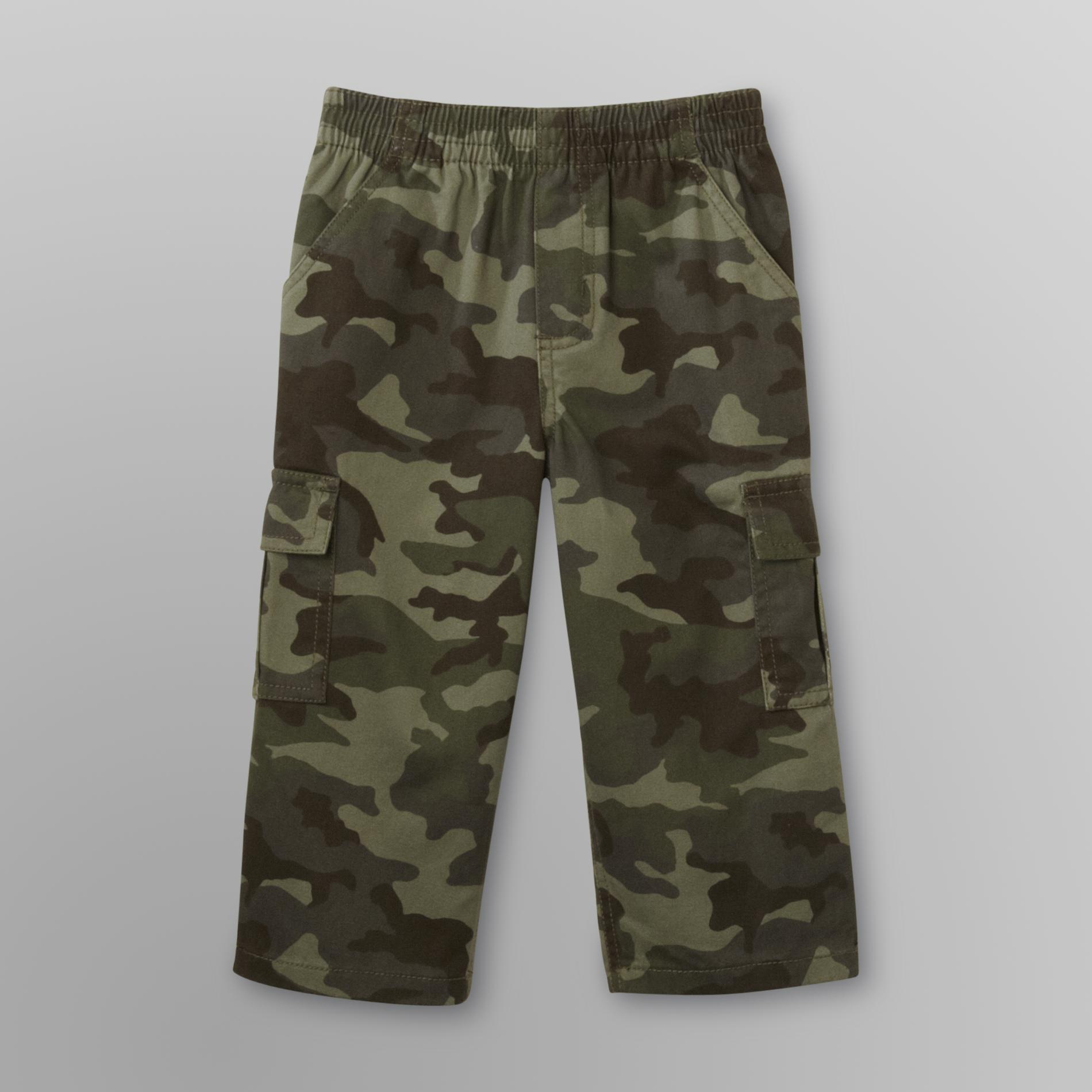 Infant & Toddler Boy's Twill Pants - Camouflage