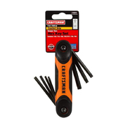 Craftsman 7-IN-1 Dual Folding Tamper Torx Hex Key Set at Kmart.com