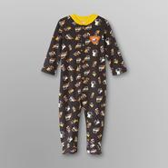 Small Wonders Infant Boy's Fleece Sleeper Pajamas - Trucks at Kmart.com