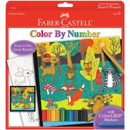 Creativity for Kids by Faber-Castell Color By Number Kit Forest Friends at Kmart.com