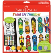 Creativity for Kids by Faber-Castell Paint By Number Kit Pop Art Skateboard at Kmart.com