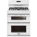 Gallery 5.8 cu. ft. Double-Oven Gas Range - White