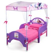 Delta Childrens Minnie Mouse Canopy Toddler Bed at Kmart.com