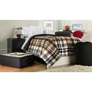 Essential Home 9-Piece Twin XL Dorm Room Bedding Set - Plaid/Striped at Kmart.com