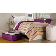 Essential Home 9-Piece Twin XL Dorm Room Bedding Set - Striped/Dots at Kmart.com