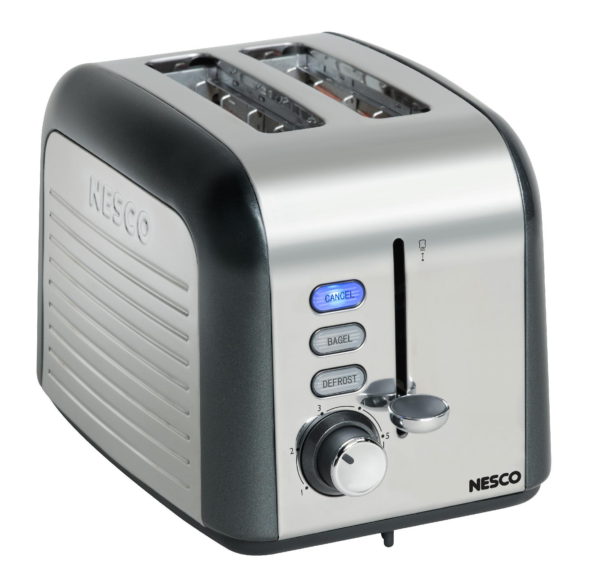 Nesco Gray 2 Slice Toaster