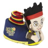 Disney Toddler Boy's Socktop Slipper Jake - Blue at Kmart.com