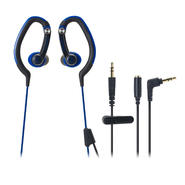 Audio-Technica ATH-CKP200BL SonicSport In-Ear Hook Style Waterproof Headphones at Kmart.com