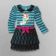 Disney Baby Ariel Toddler Girl's Graphic Lace Dress at Kmart.com