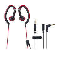 Audio-Technica ATH-CKP200RD SonicSport In-Ear Hook Style Waterproof Headphones at Kmart.com