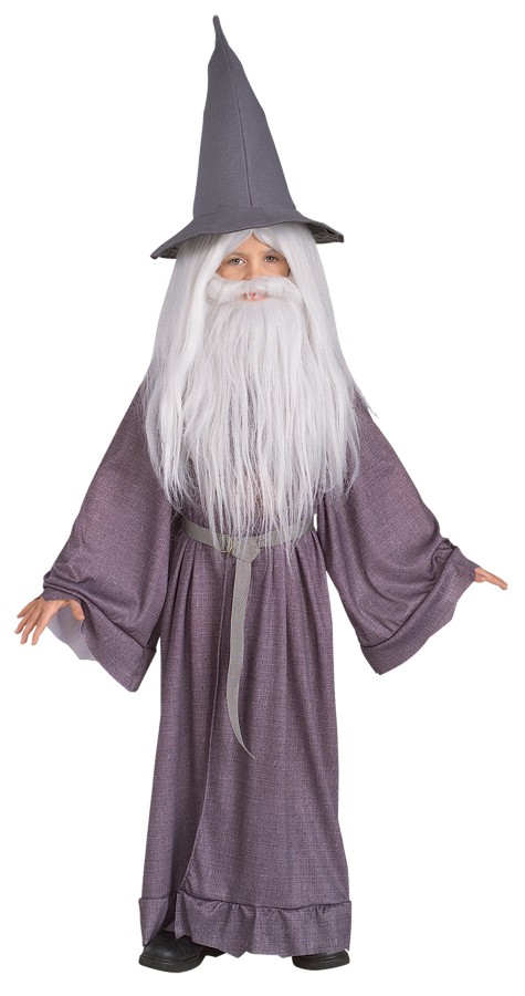 Lord of the Rings Boys Gandalf the Grey Halloween Costume Size: S PartNumber: 009V006164207000P KsnValue: 009V006164207000 MfgPartNumber: RU38781SM
