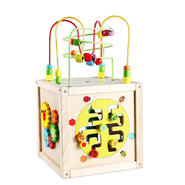 Classic Toy Multi-activity cube w/wheels at Kmart.com