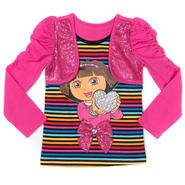 Nickelodeon Dora the Explorer Girl's Bolero Top - Striped at Sears.com