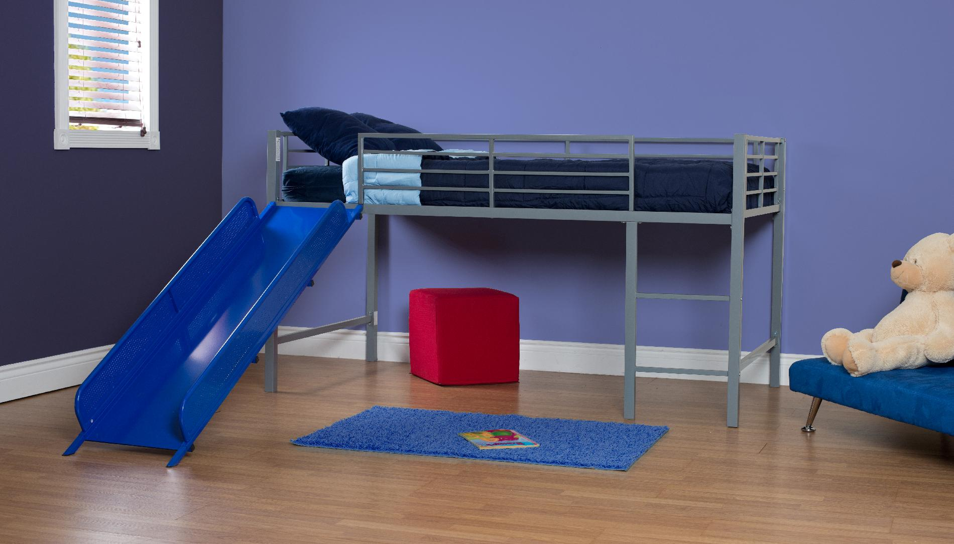 DHP  Fantasy Loft Bed W Blue Slide