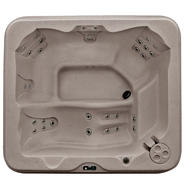 Coleman Spas 5-Person 30-Jet Lounger Spa with Easy Plug -N-Play and LED Waterfalls at Kmart.com