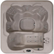 Coleman Spas 6-Person 30-Jet Lounger Spa with Easy Plug -N-Play and LED Waterfalls at Kmart.com