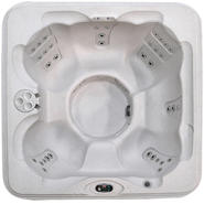 Coleman Spas 6-Person 30-Jet Bench Spa with Easy Plug -N-Play and LED Waterfalls at Kmart.com