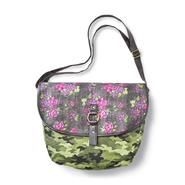 Bongo Junior's Canvas Messenger Bag - Floral & Camouflage at Kmart.com