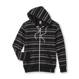 Route 66 Men's Fleece Hoodie Jacket - Double Stripe at Kmart.com