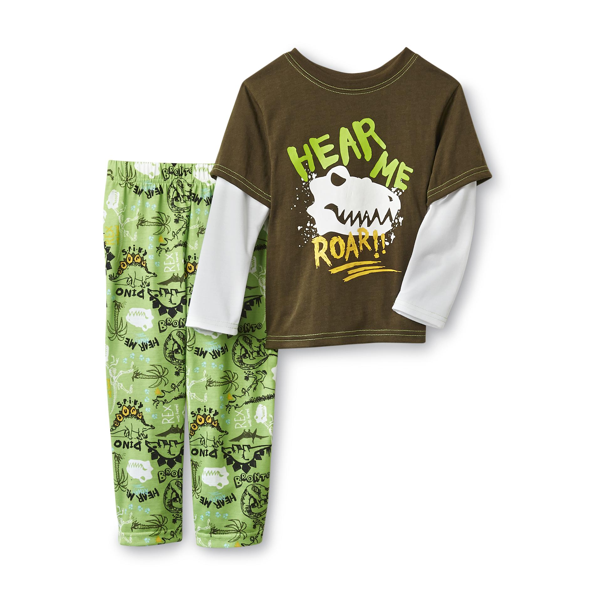 Joe Boxer  Toddler Boy's Pajamas - Dinosaur