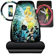 Tinkerbell Watercolor Seat Covers, Steering Wheel Cover and Floor Mat Bundle at Kmart.com