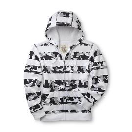 Route 66 Men's Fleece Hoodie Jacket - Camo Stripe at Kmart.com