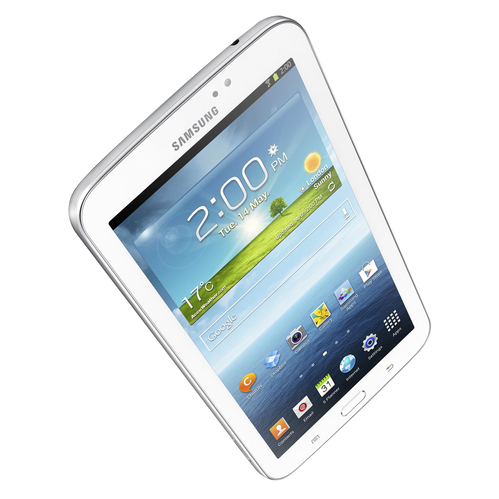 Samsung 7 in. Galaxy Tab 3, 8GB SM-T210RZWYXAR White
