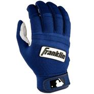 Franklin Sports MLB Adult Cold Weather Batting Glove Pearl/Navy Medium at Kmart.com