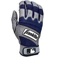 Franklin Sports MLB Youth Natural 2 Batting Glove Gry/Navy Medium at Kmart.com
