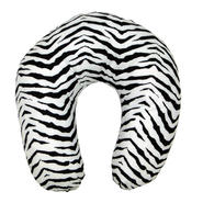 Essential Home Microflannel Neck Pillow - Zebra Print at Kmart.com