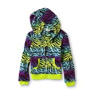 Piper Girl's Fleece Hoodie Jacket - Zebra Print at Kmart.com