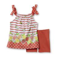 WonderKids Infant & Toddler Girl's Tank Top & Bike Shorts - Fruit/Bees at Kmart.com