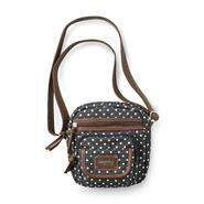 Joe Boxer Women's Free Fall Compact Crossbody Purse - Polka Dot at Kmart.com