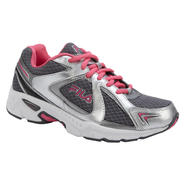 Fila Women's On The Go Silver/Pink Athletic Shoes at Sears.com