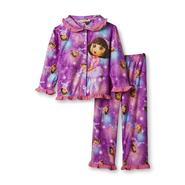 Nickelodeon Dora the Explorer Infant & Toddler Girl's Pajamas at Kmart.com