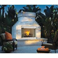 "Comfort Flame 36"" Stainless Steel Outdoor Vent-Free Fireplace - LP Gas at Sears.com"
