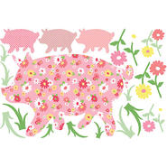 WallPops Scarlett The Pig Wall Art Kit at Kmart.com