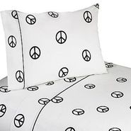 Sweet Jojo Designs Peace Pink Collection Sheet Set at Kmart.com