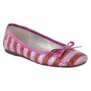 WonderKids Youth Girl Dress Flat Irene - Pink at Sears.com