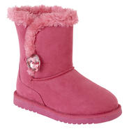 Canyon River Blues Youth Girl's Norma Fuchsia Faux Fur Boot at Sears.com