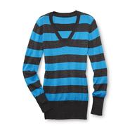 Bongo Junior's V-Neck Sweater - Rugby Stripes at Sears.com