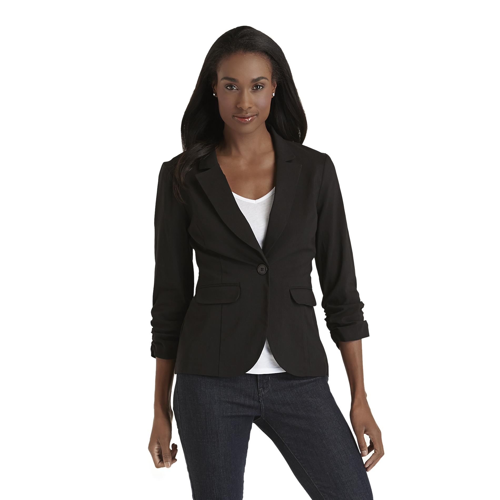 Metaphor Women's Ruched Blazer at Sears.com