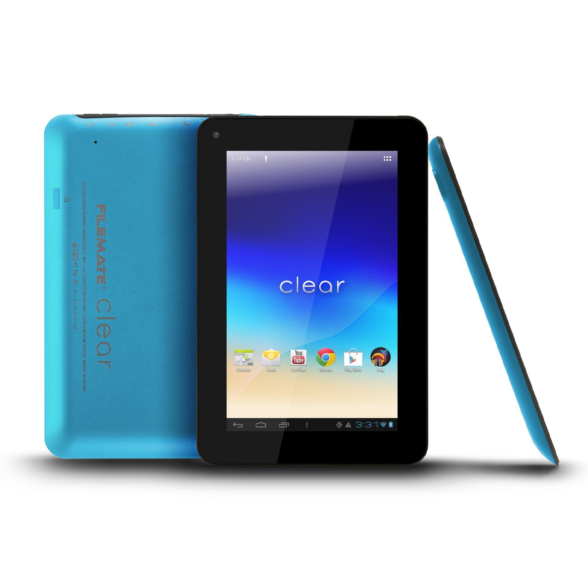 FILEMATE Filemate Clear 3FMT720BK-16G-R 7-Inch 16GB Tablet - Blue PartNumber: 00343310000P KsnValue: 00343310000 MfgPartNumber: 3FMT720BL-16G-R