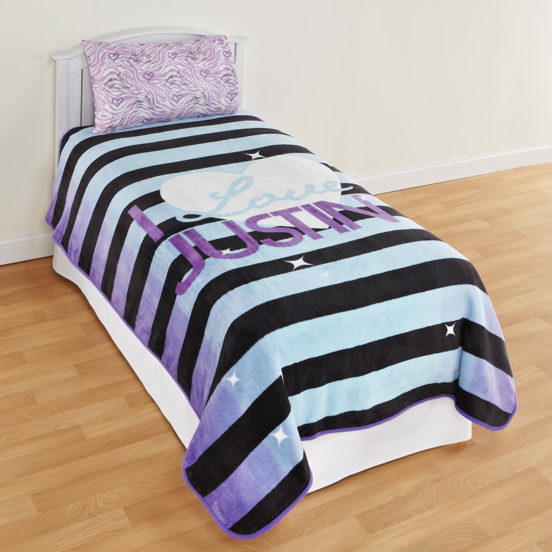 Justin Bieber Girl's Fleece Blanket