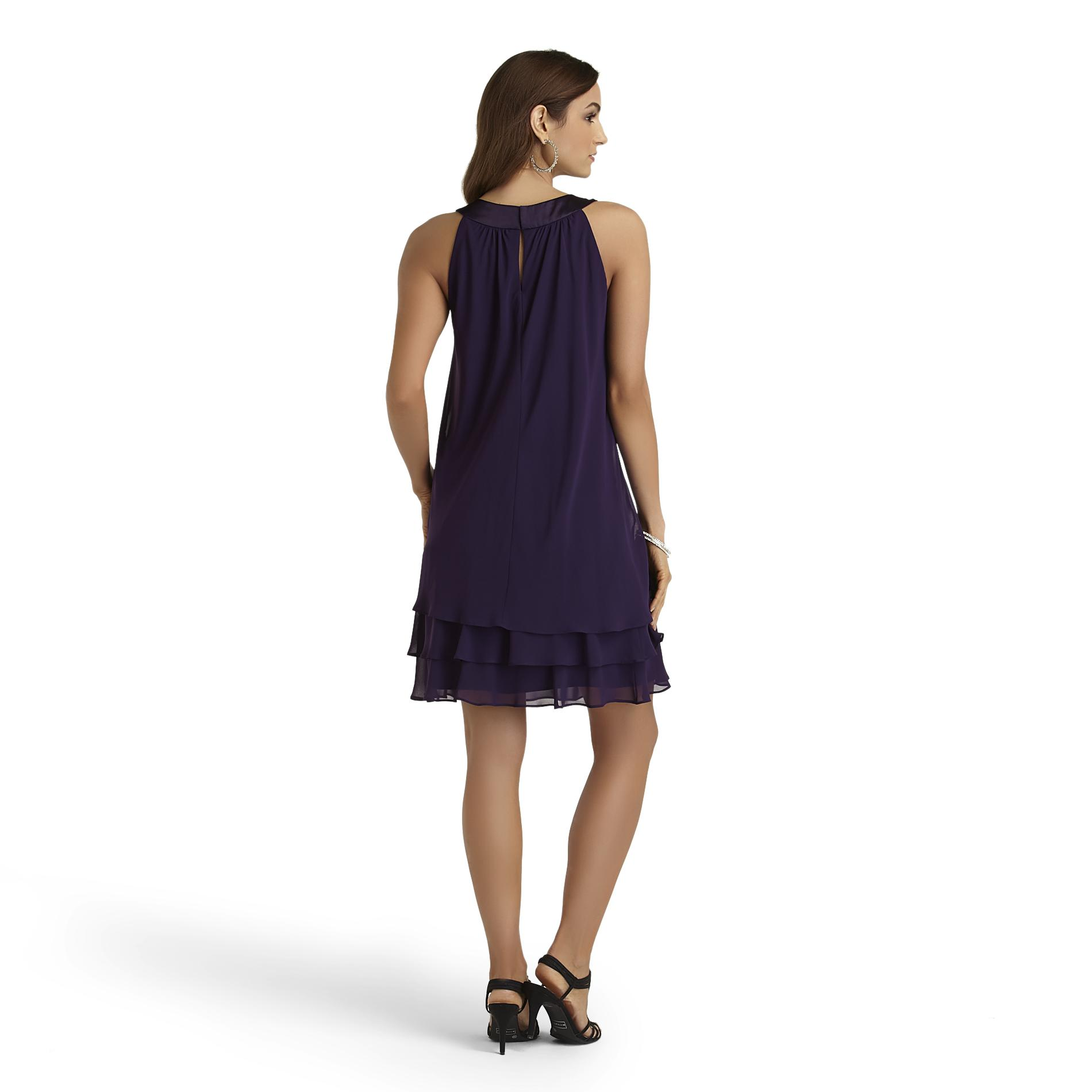 Sally Lou Fashions Women's Tiered Dress - Clothing, Shoes & Jewelry - Clothing - Women's ...